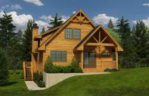 Cabin House Plans - Home Design 1662