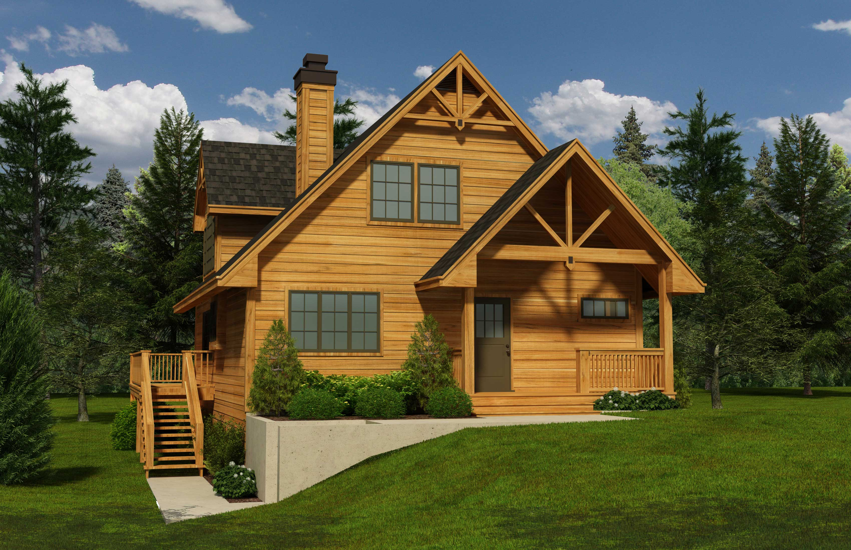 Cabin House Plan Log House Plans Cabin House Plan With Loft