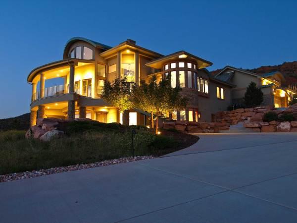 Contemporary Mountain House Plans - Home Design #161-1000