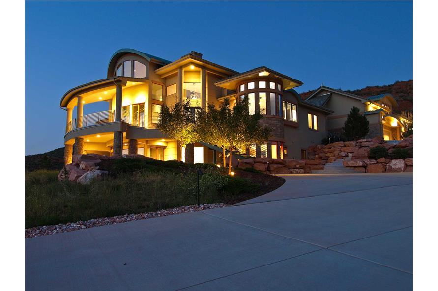 Contemporary Mountain Houseplans  Home Design 1611000
