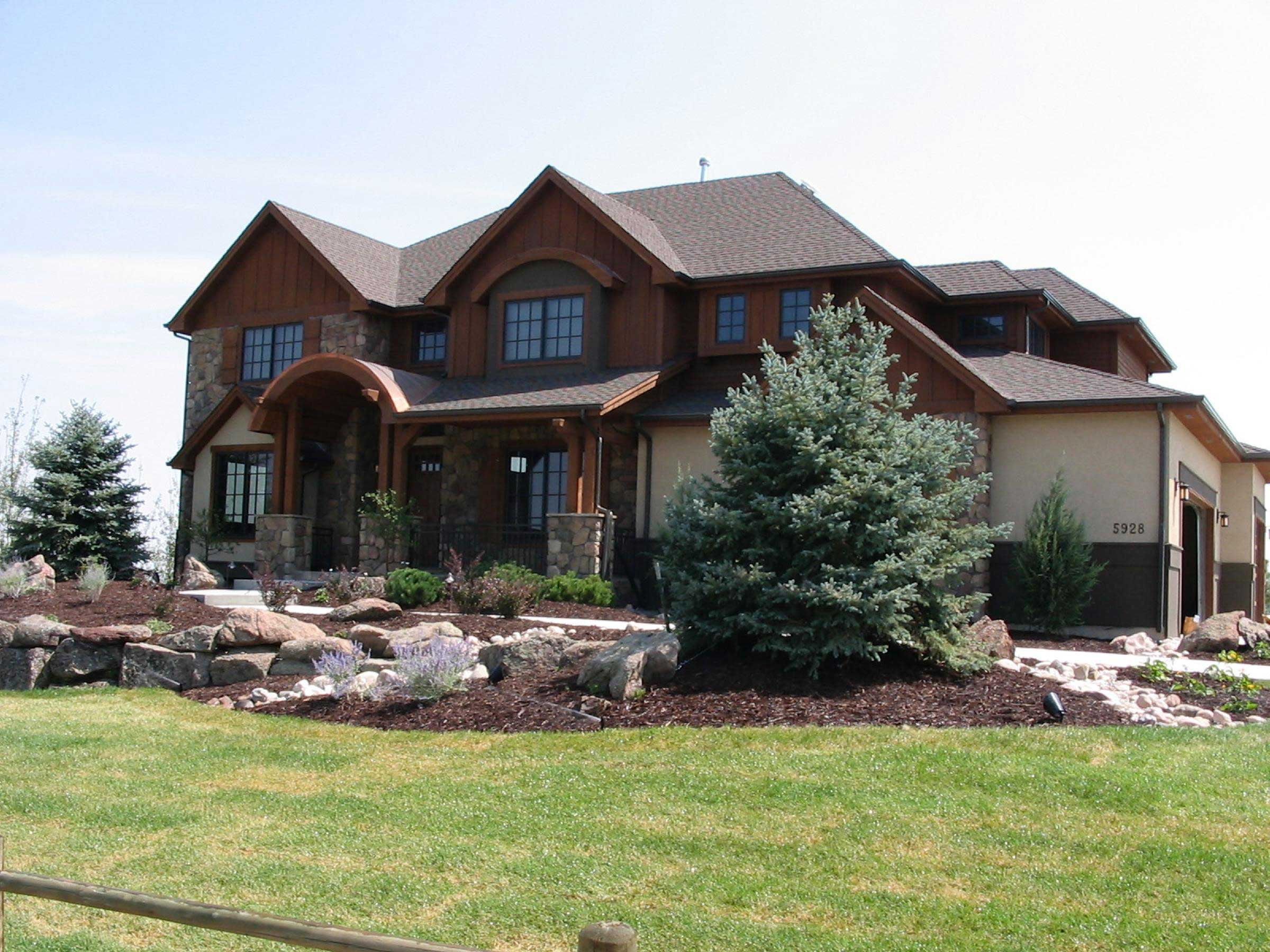 Rustic Mountain House Plans  Home Design 1611036  ThePlanCollection