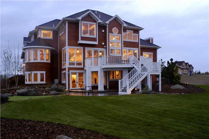 Shingle Style  Craftsman House Plan 5023 sq ft Home