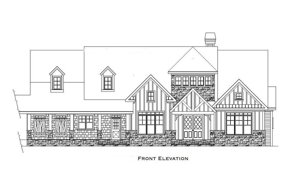 4 Bedrm, 6765 Sq Ft Craftsman House Plan #163-1027