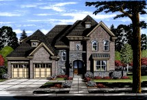 Luxury House Plan #169-1120 4 Bedrm 3287 Sq Ft Home