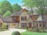 French Country House Plans Home Design 170 1863