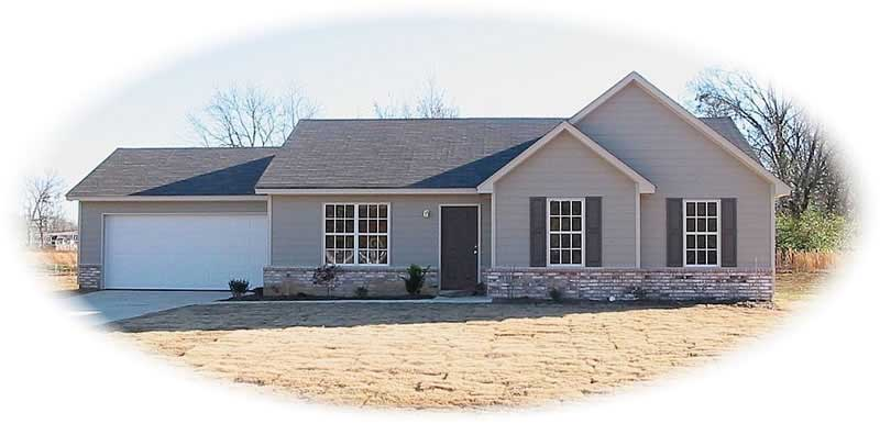 Contemporary Ranch Wheelchair Accessible House Plans
