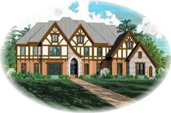 Contemporary Luxury Tudor House Plans Home Design