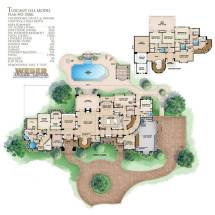 Tuscan Style House Floor Plans
