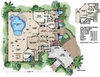 Mediterranean House Plans - Home Design WDGF2-4682 # 13283