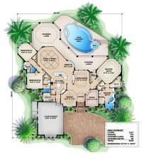 Mediterranean Home Plans, Florida House Plans, Home Plans ...