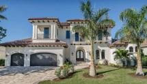 Mediterranean House Plan - 4 Bedrms 4.5 Baths 5848 Sq