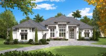 Coastal European House Plan #175-1130 4 Bedrm 4089 Sq Ft