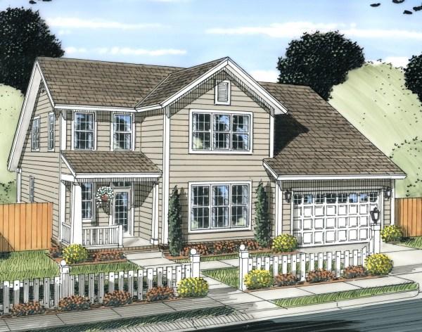 Craftsman House Plan #178-1229 3 Bedrm 1958 Sq Ft Home