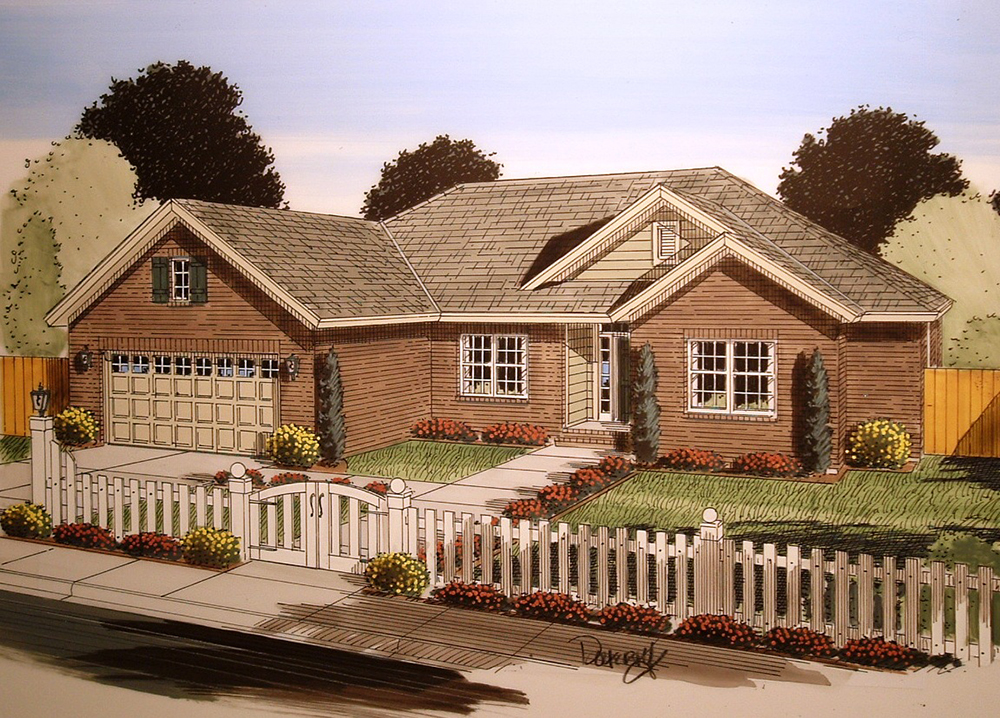 Traditional House Plans 1 Story