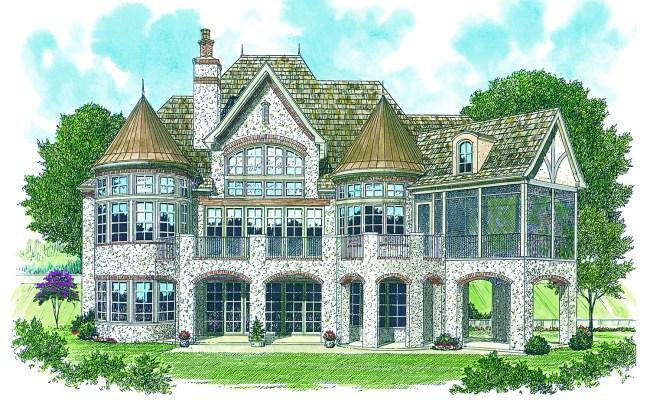4731 Sq Ft European House Plan 180 1013 4 Bedrm Home