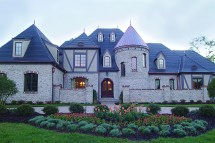Luxury French Chateau House Plans