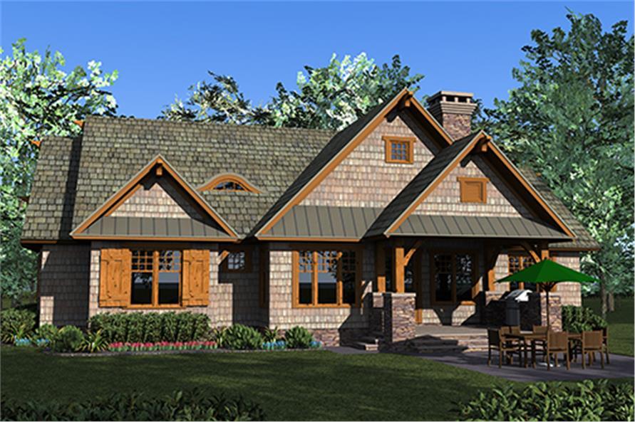 Craftsman House Plan 180 1049 3 Bedrm 2074 Sq Ft Home