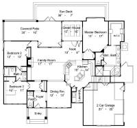 Country Home Plan - 3 Bedrms, 2.5 Baths - 1997 Sq Ft ...