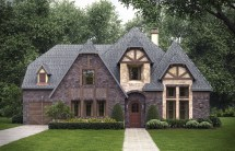 4 Bedrm 4268 Sq Ft Tudor House Plan #195-1025