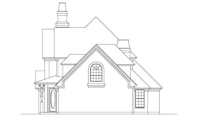 European Home 3 Bedrms 4 Baths 2699 Sq Ft Plan 195