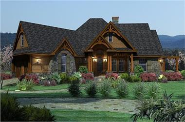 Craftsman House Plan Home Plan 153 1781 The Plan Collection