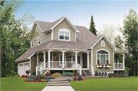 2 Story Country Homes and House Plans