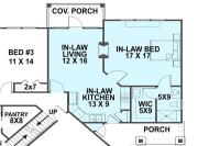 Floor Plans For Homes With Mother In Law Suites
