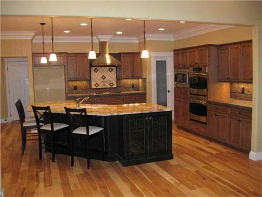 open plan kitchen dining living room plans sofa sets on sale acadian house styles | the collection