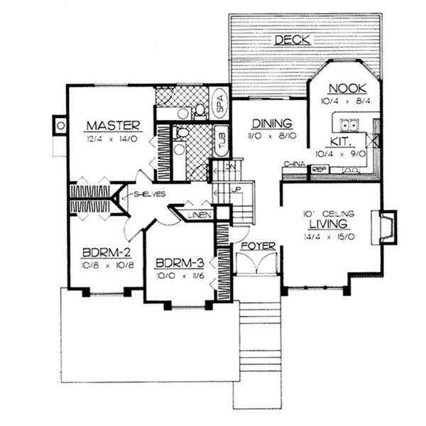 Split Level House Designs