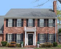 Southern Style Plantation Home Design President James
