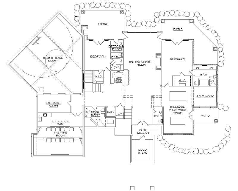 Regulation ceiling height for basketball court for House plans with indoor basketball court