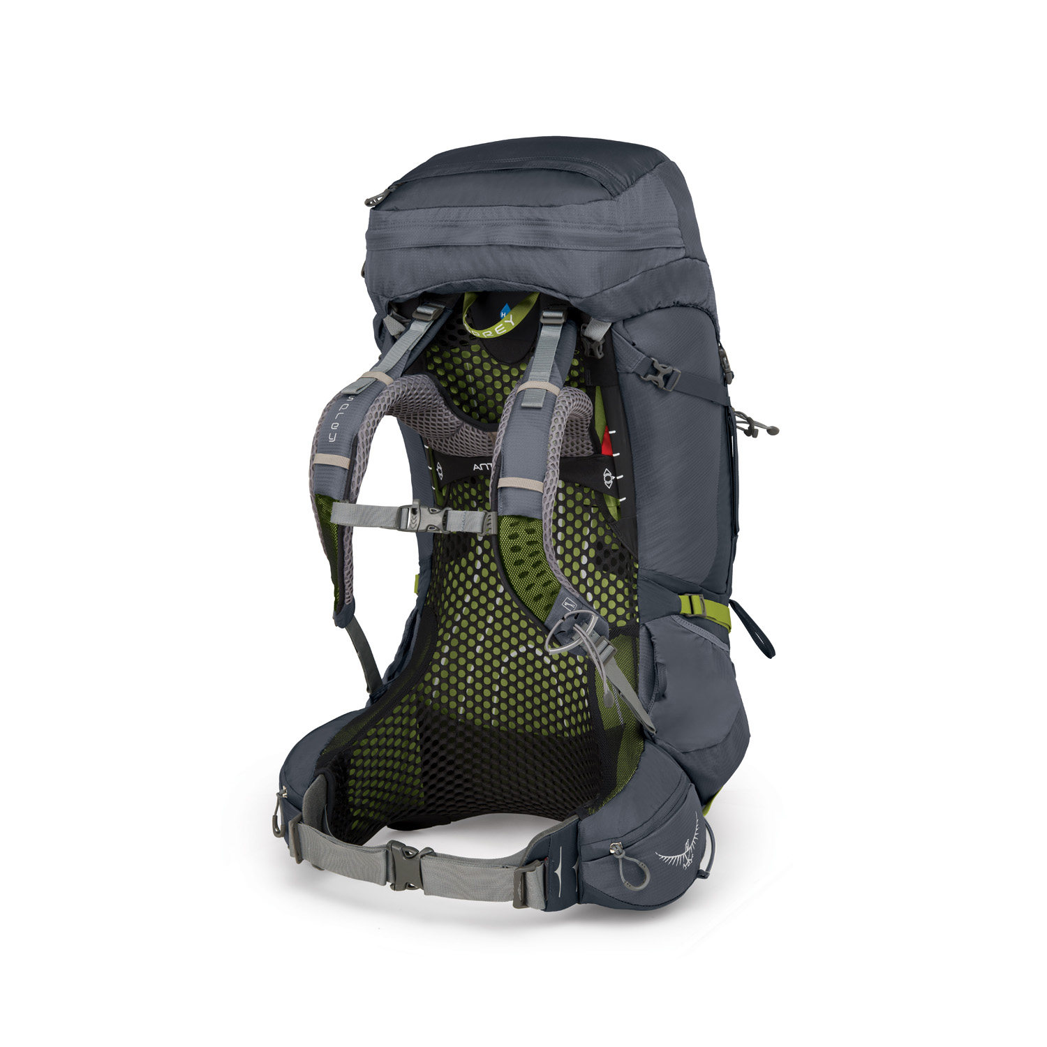 Lækker Buy Osprey Atmos AG 65 Backpack with Raincover M - Abyss Grey in YG-33