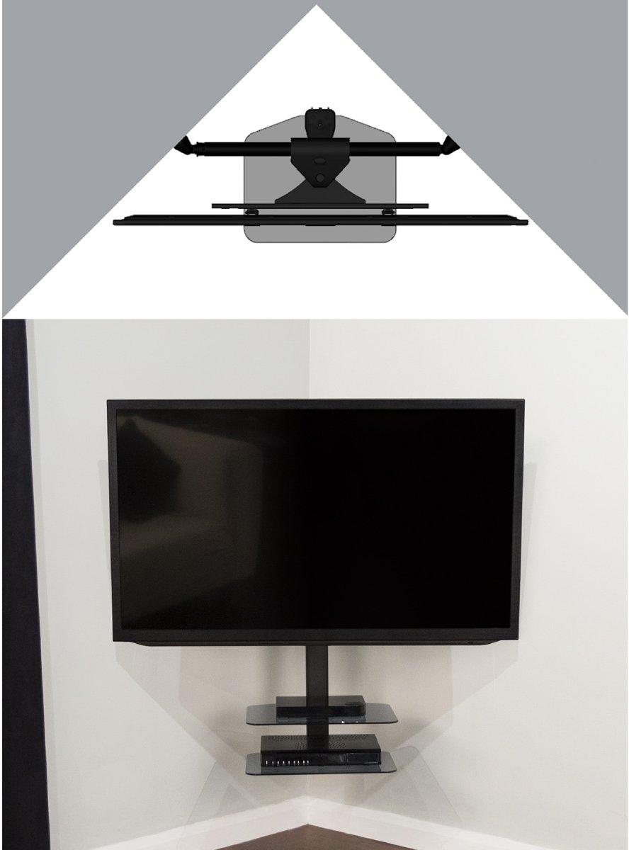 Avf Zsl5502 Cornermount Corner Tv Mounting Solution With