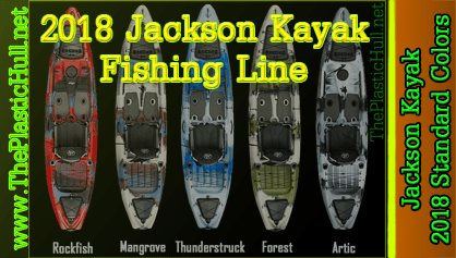 Jackson Kayak 2018 Colors