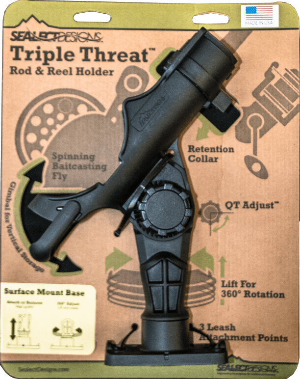 Triple Threat Rod Holder Image