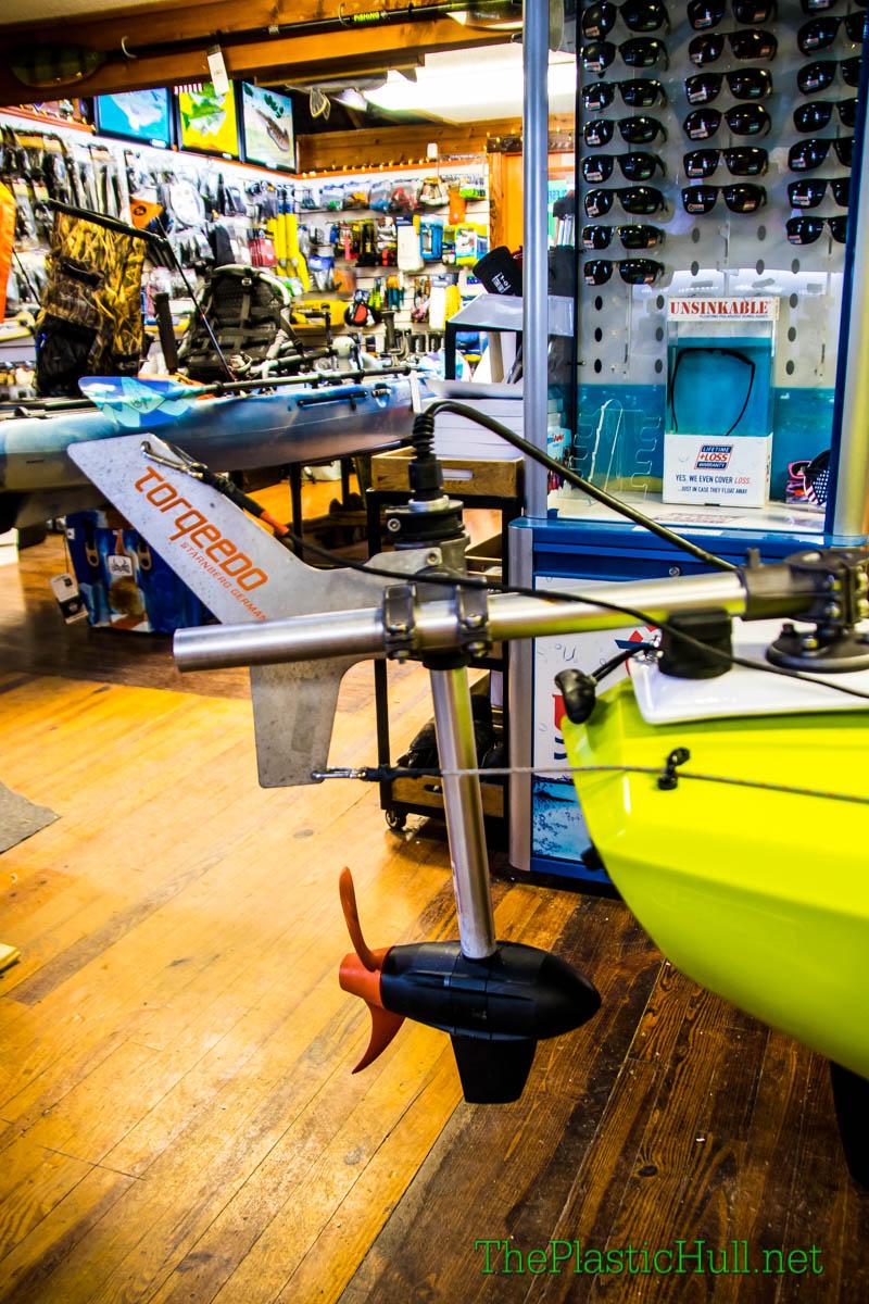 Hobie Compass Torqeedo Ultralight Install - The Plastic Hull