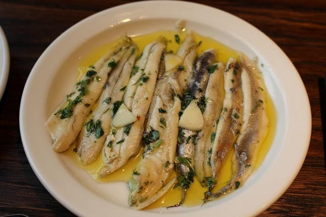 anchovies boquerones Curado pintxos Cardiff