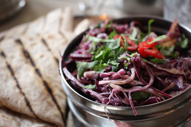 red cabbage coleslaw Mowgli Liverpool