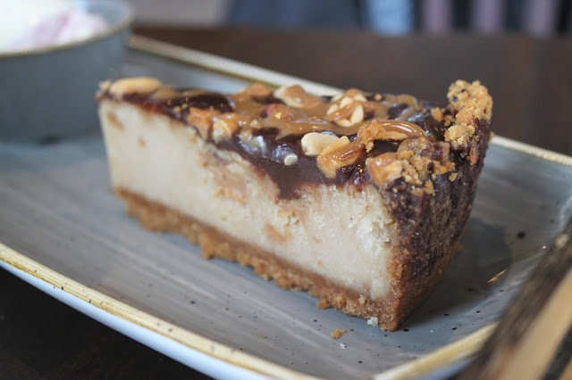 peanut butter cheesecake The Dock
