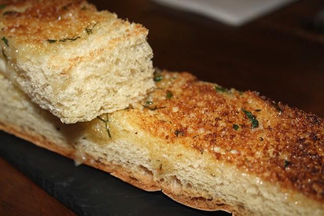 garlic bread focaccia Bunch of Grapes Pontypridd
