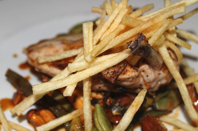 chicken pommes paille shoestring potatoes Bunch of Grapes Pontypridd