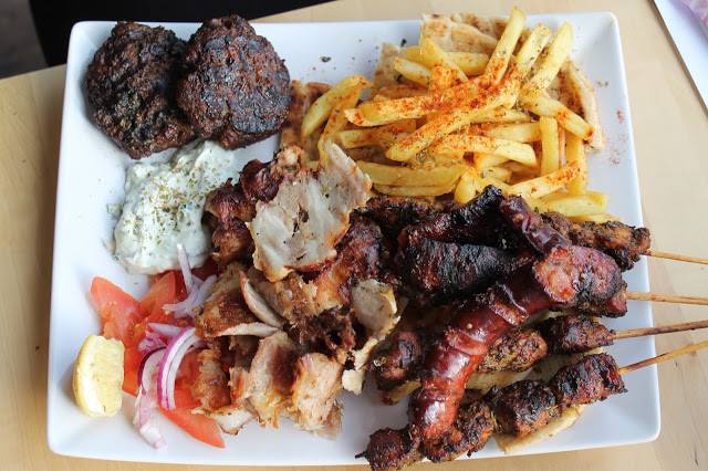mixed meat Hellenic eatery