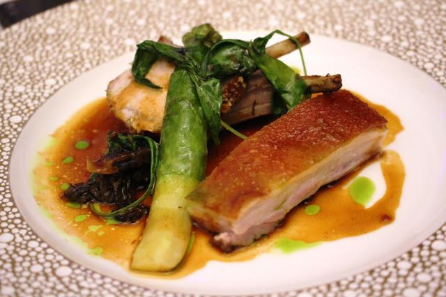 pork belly Park House Cardiff