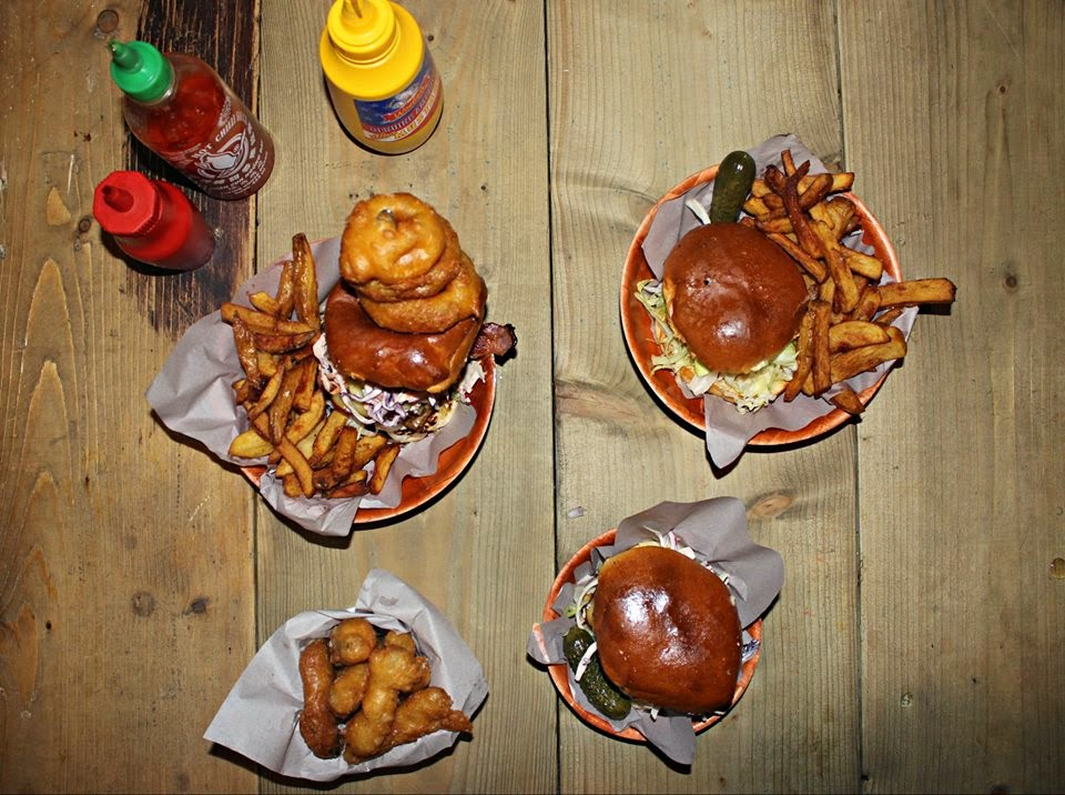 burgers spit and sawdust cardiff