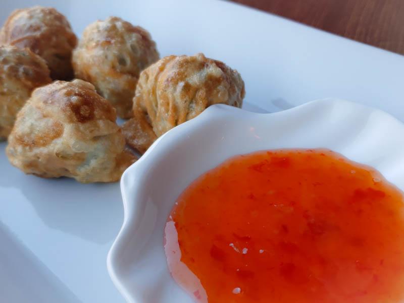 prawn dumplings sushi life cardiff
