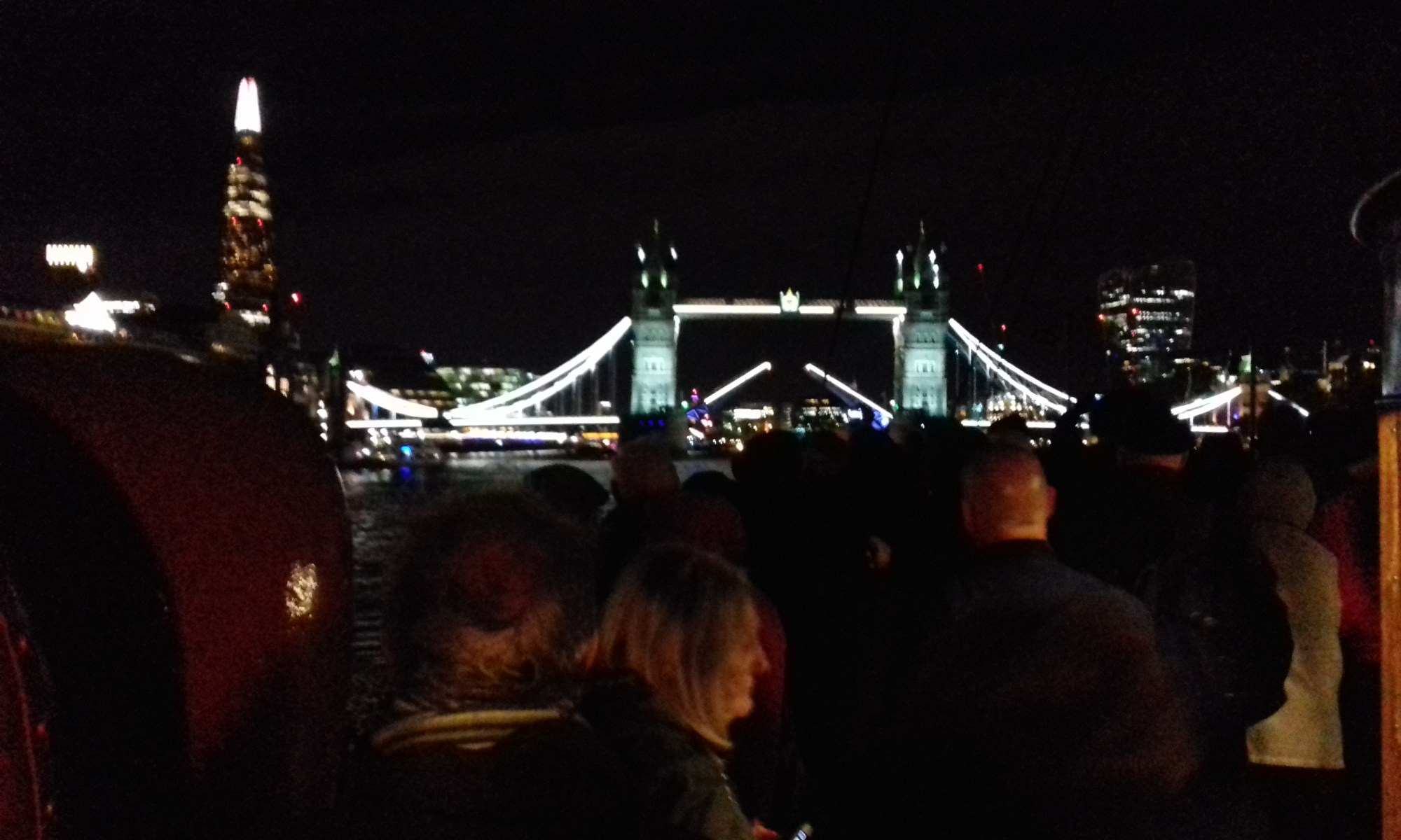 Tower bridge opening