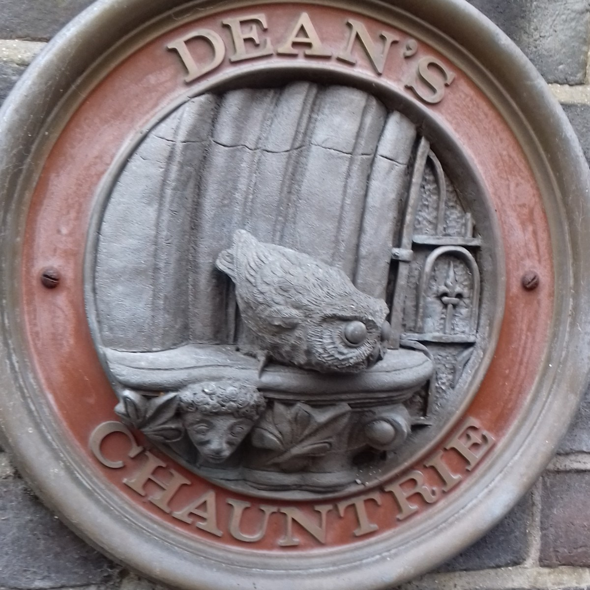 The sign says Deans Chaunterie
