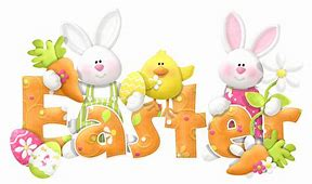 Easter rabbits and chicks