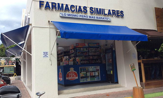 There seems to be a pharmacy on every corner in the region / Photo: TPT