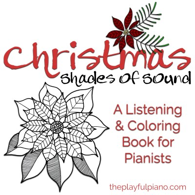i am so excited today to release my new shades of sound listening coloring book this one is all about music of the christmas season